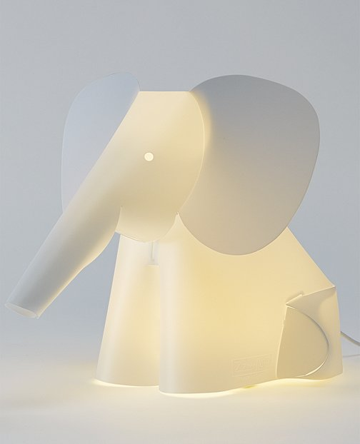 Elephant Table Lamp by Hanna Andersson