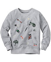 All Play Sweatshirt by Hanna Andersson