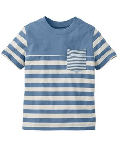 Coming And Going Stripe Tee by Hanna Andersson