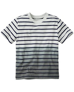 Dip Dye Striped Tee by Hanna Andersson