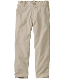 Slim Washed Chinos by Hanna Andersson