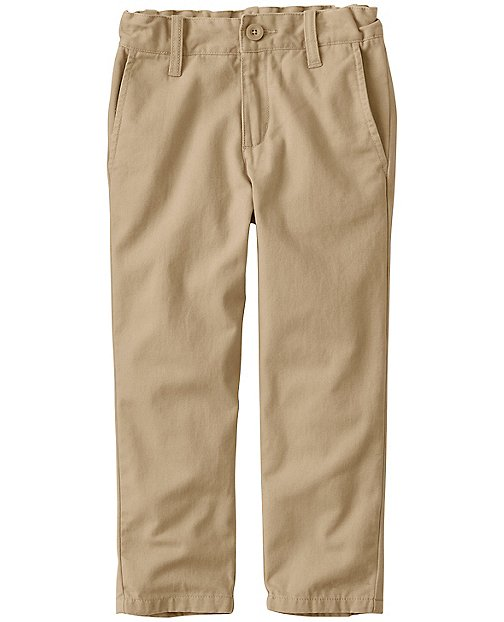 Boys Slim Washed Chinos by Hanna Andersson