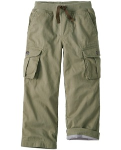 Jersey Lined Cargos by Hanna Andersson