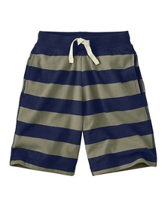 Heavy Jersey Striped Shorts by Hanna Andersson