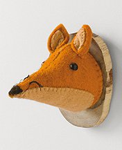Mini Woodland Trophy Head by Hanna Andersson
