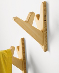 Handcrafted Tree Hooks by Hanna Andersson