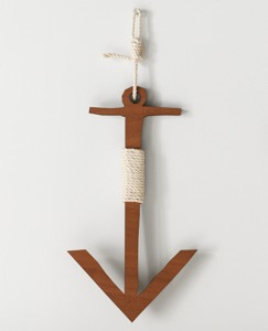 Wooden Wall Anchor by Hanna Andersson