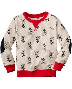 Disney Mickey Mouse Embroidered Sweatshirt by Hanna Andersson