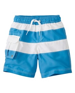Cargo Board Shorts With UPF 50+ by Hanna Andersson