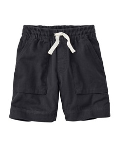 Washed Twill Cabin Shorts by Hanna Andersson