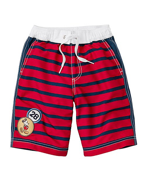 Disney Mickey Mouse Board Shorts With UPF 50+ by Hanna Andersson