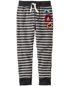 Disney Mickey Mouse Slim Sweats In 100% Cotton by Hanna Andersson