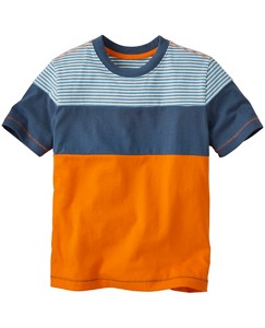 Colorblock Tee in Supersoft Jersey by Hanna Andersson