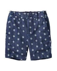 Win Win Chambray Shorts by Hanna Andersson