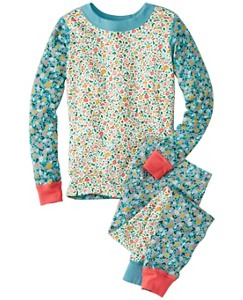 Girls Long John Pajamas In Organic Cotton by Hanna Andersson