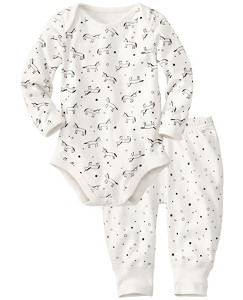 Wiggle Set In Organic Pima Cotton by Hanna Andersson