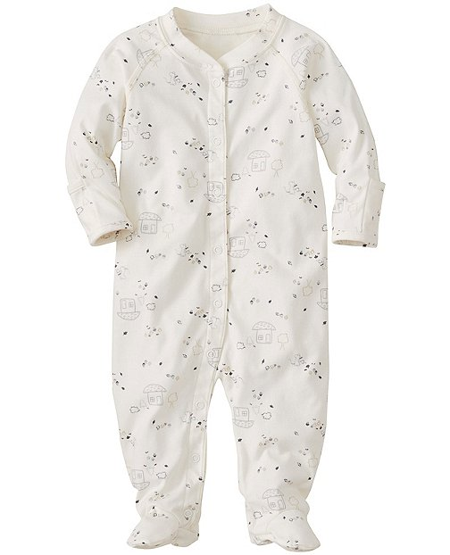 Little Sleepers With Feet In Organic Pima Cotton by Hanna Andersson