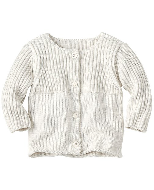 Babysoft Cardigan In Organic Cotton by Hanna Andersson