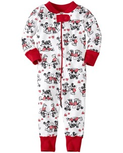 Disney Mickey Mouse Baby Sleepers In Pure Organic Cotton by Hanna Andersson