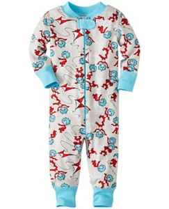 Dr. Seuss Baby Sleepers In Pure Organic Cotton by Hanna Andersson