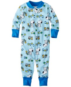 Baby Peanuts Baby Sleepers In Pure Organic Cotton by Hanna Andersson