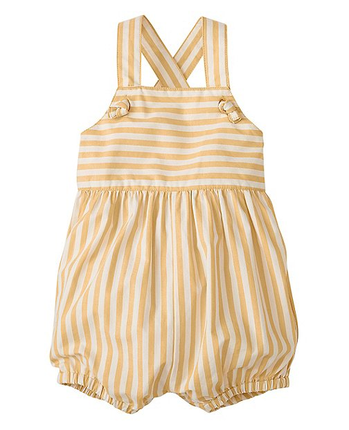 Bubble Romper Overalls by Hanna Andersson