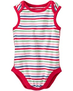 Tanker One Piece In Organic Cotton by Hanna Andersson