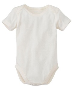 Baby First Layer One Piece In Organic Cotton by Hanna Andersson