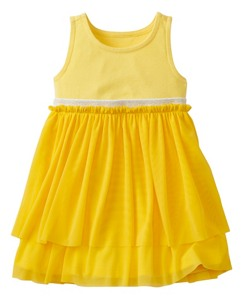 Toddler Swish Sparkle Dress With Tulle Tiers by Hanna Andersson