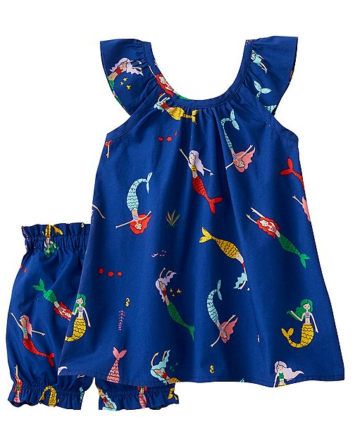 Toddler Ruffle Sundress & Bloomer Set by Hanna Andersson