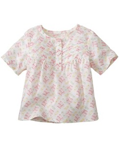 Pretty Pleats Top by Hanna Andersson