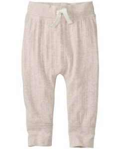 Soft Pointelle Wiggle Pants by Hanna Andersson