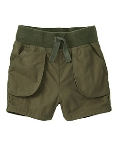 All Smiles Cargo Shorts by Hanna Andersson