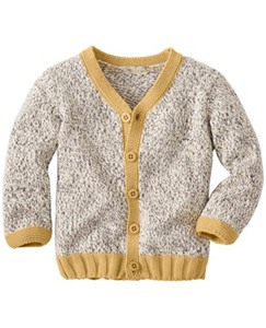 Marled Button Front Cardigan by Hanna Andersson