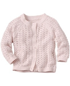So Soft Cable Cardigan by Hanna Andersson