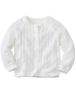 Toddler Heartknit Pointelle Cardigan by Hanna Andersson