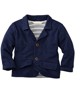 Little Guy Blazer In French Terry by Hanna Andersson
