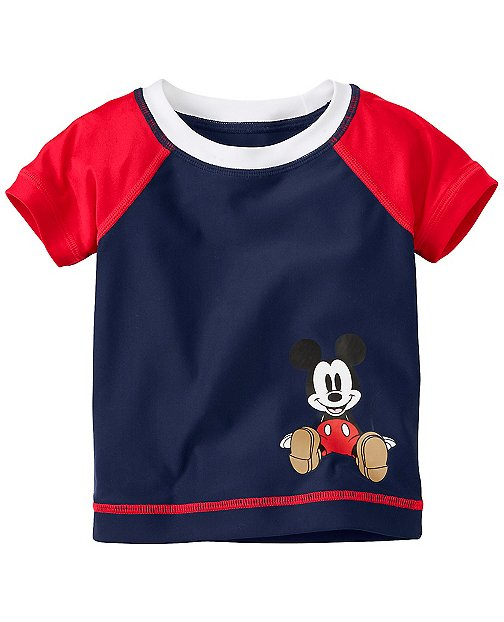 Disney Mickey Mouse Rash Guard by Hanna Andersson