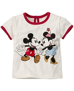 Disney Mickey Mouse Art Tee in Supersoft Jersey by Hanna Andersson