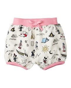 Disney Mickey Mouse Bloomer Shorts In French Terry by Hanna Andersson