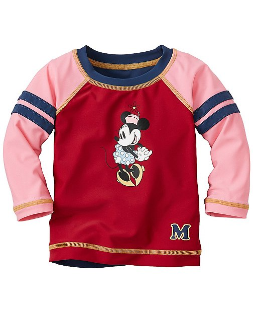 Disney Minnie Mouse Rash Guard Tee by Hanna Andersson