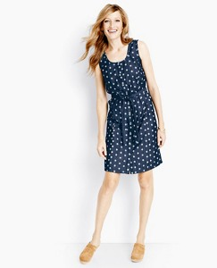 Blue Happiness Shirtdress by Hanna Andersson