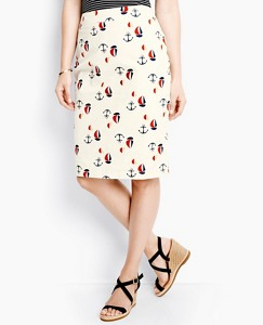 Smooth Sailing Pencil Skirt by Hanna Andersson