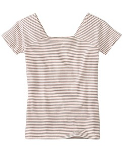 Square Neck Pima Tee by Hanna Andersson