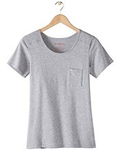 Women Pima Pocket Tee  by Hanna Andersson