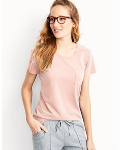Women's Boyfriend Pima Pocket Tee by Hanna Andersson