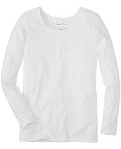 Perfect Fit Pima Tee by Hanna Andersson