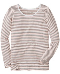 Stripe Pima Tee by Hanna Andersson