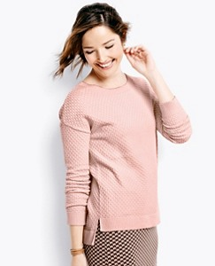 Cotton Cashmere Sweater by Hanna Andersson