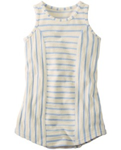 Just Beachy Dress In French Terry by Hanna Andersson
